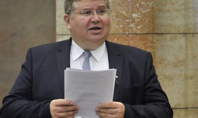 Bajkai István, a Fidesz képviselője napirend előtt felszólal az Országgyűlés plenáris ülésén 2020. október 26-án. MTI/Kovács Attila