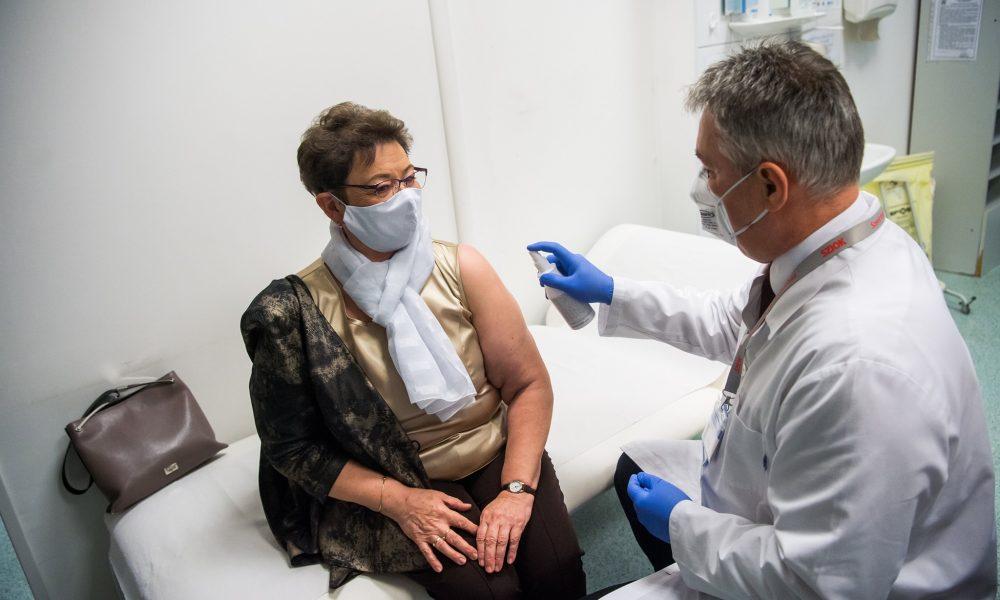 Müller Cecília is megkapta a koronavírus elleni vakcinát