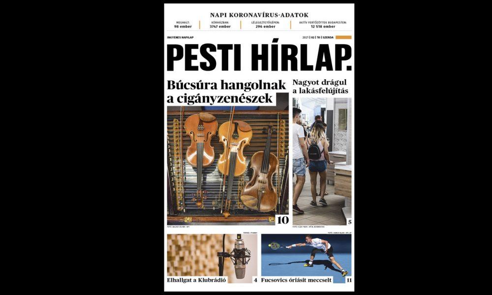 Kilátástalan helyzetben a cigányzenészek, nagyot drágul a lakásfelújítás – megjelent a Pest Hírlap!