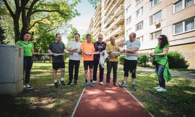 A Pestszentlőrinc-Pestszentimre önkormányzata és az Aktív Magyarország Kormánybiztosság együttműködésével épült, 1101 méter hosszú futópályát a Havanna lakótelepen