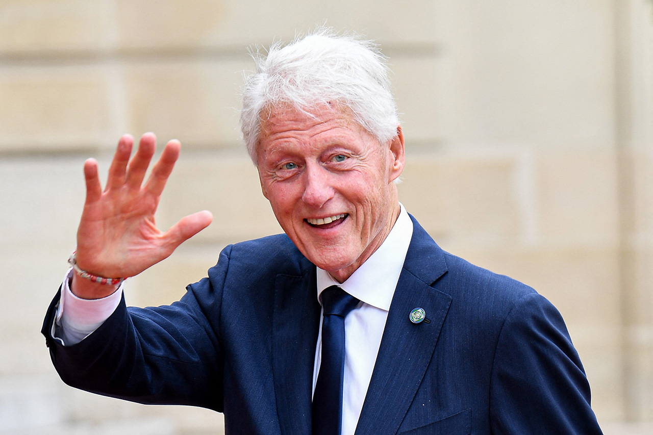 Bill Clinton 75 éves