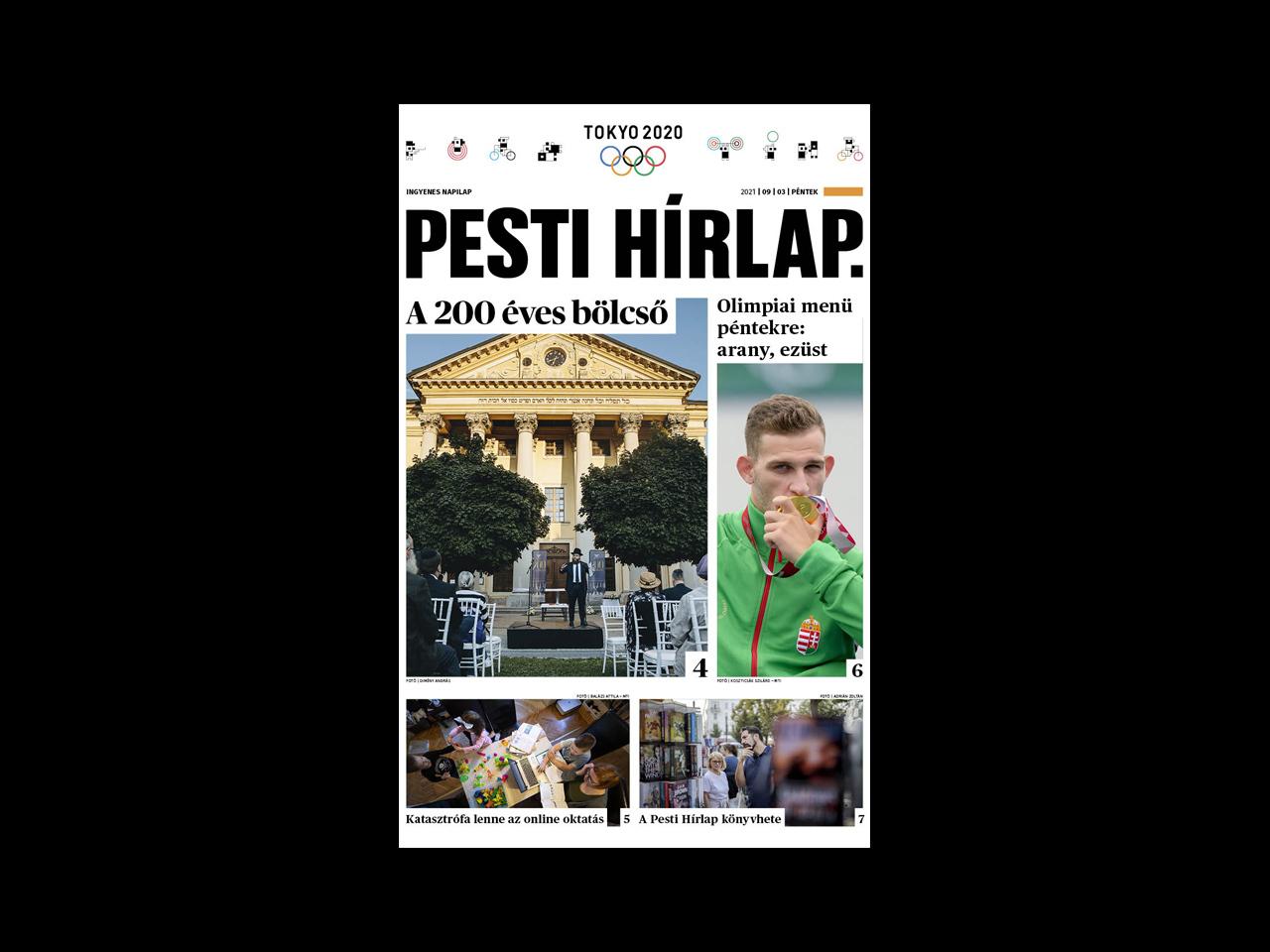 Katasztrófa lenne az online oktatás; könyvheti 10-es lista – megjelent a Pesti Hírlap